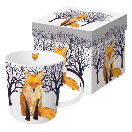 WINTER FOX GIFT BOXED MUG