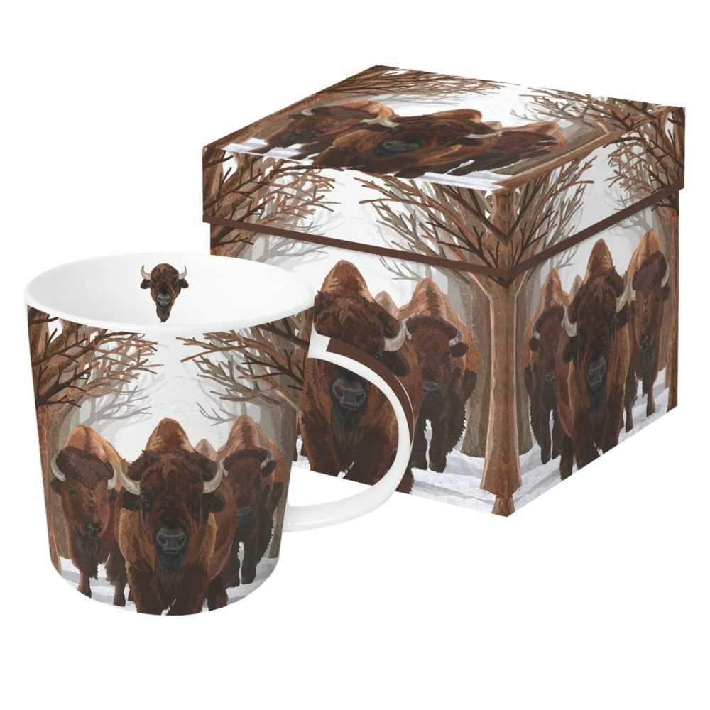 Buffalo Passage Gift-Boxed Mug