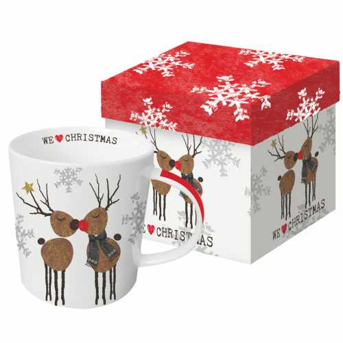 WE LOVE CHRISTMAS BOXED MUG