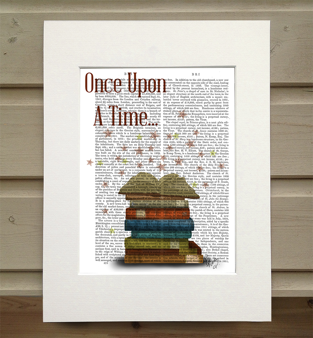 Once Upon A Time Books, Book Print