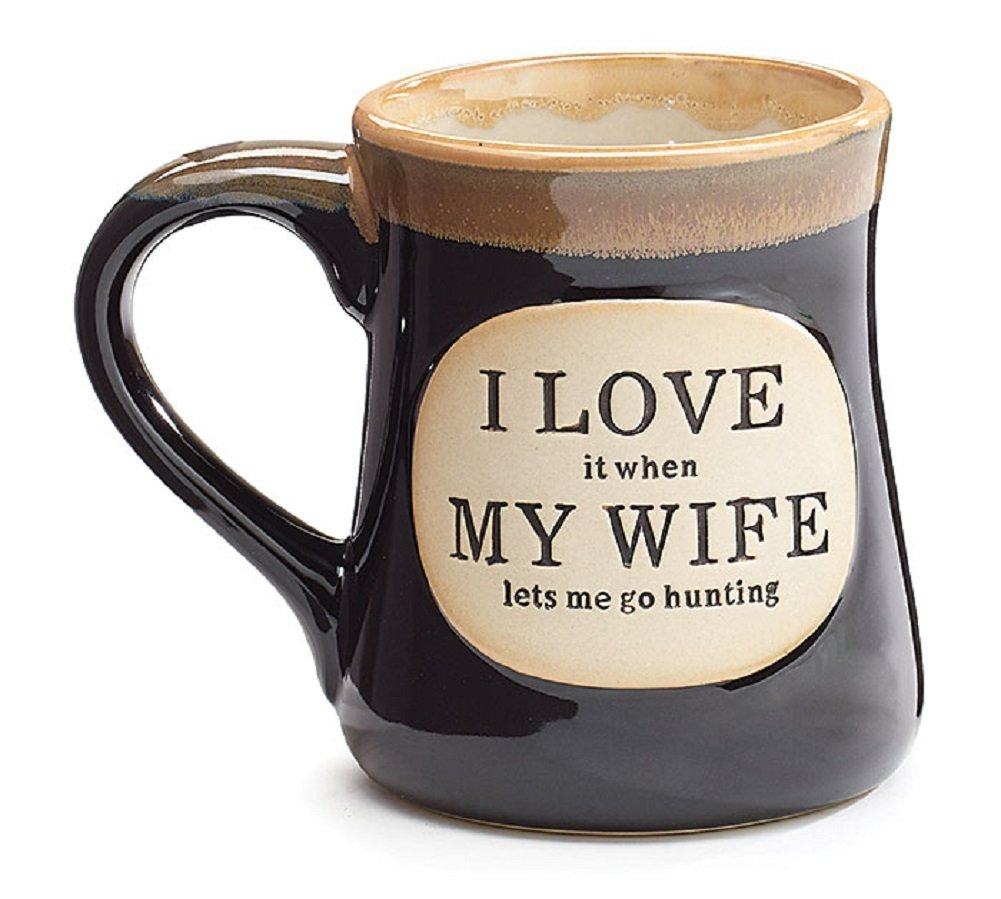Love it When my Wife Lets Me go Hunting Coffee Tea Mug Cup
