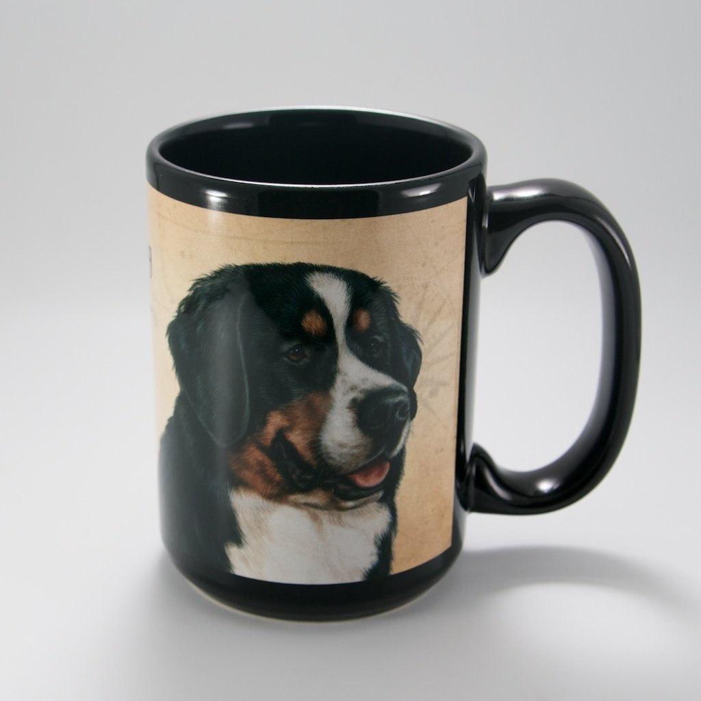 Bernese Mountain Dog My Faithful Friends 15oz Mug