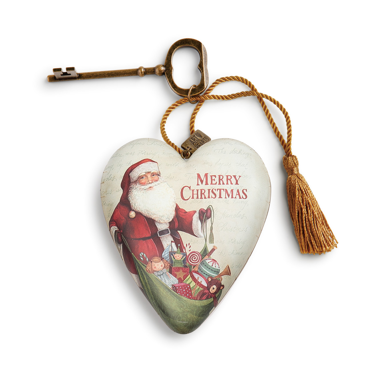 Merry Christmas Art Heart