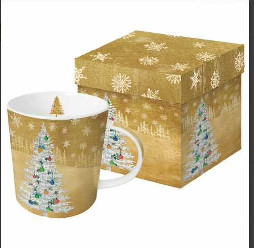WOODLAND TREE GIFT BOXED MUG